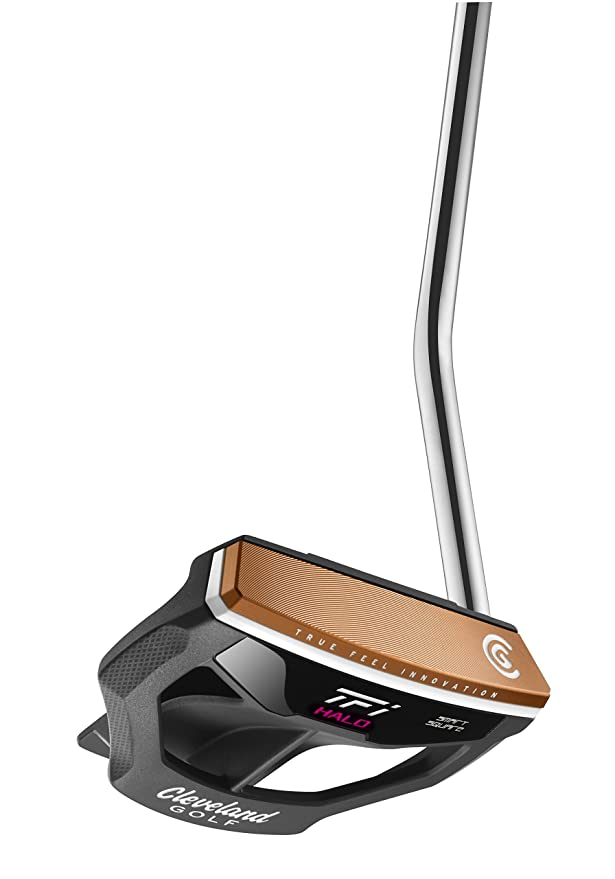 Amazon.com: Cleveland GOLF MUJER TFI Halo Mallet Putter, 34 ...