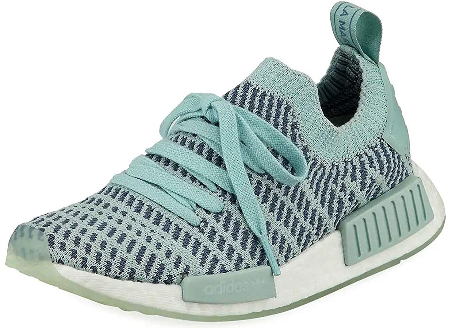 quality design 812c5 186bc adidas Originals NMD R1 STLT PK Running Shoes Grey/White (11 B(M) US)