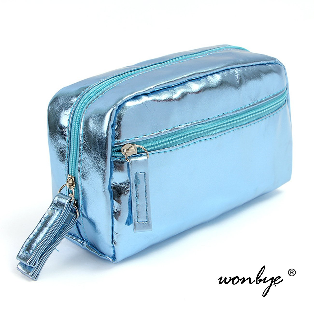 0dd465e204be Toiletry Bag, wonbye PU Leather Waterproof Travel Toiletry Bag Organizer  Perfect for travel & Household...