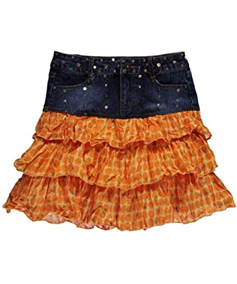 Vezucci - Falda - para niña Naranja naranja: Amazon.es: Ropa y ...