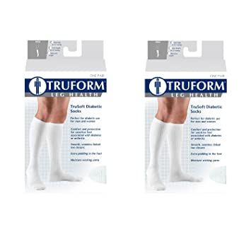 3bca3a029116 Image Unavailable. Image not available for. Color: Truform Compression Socks  ...