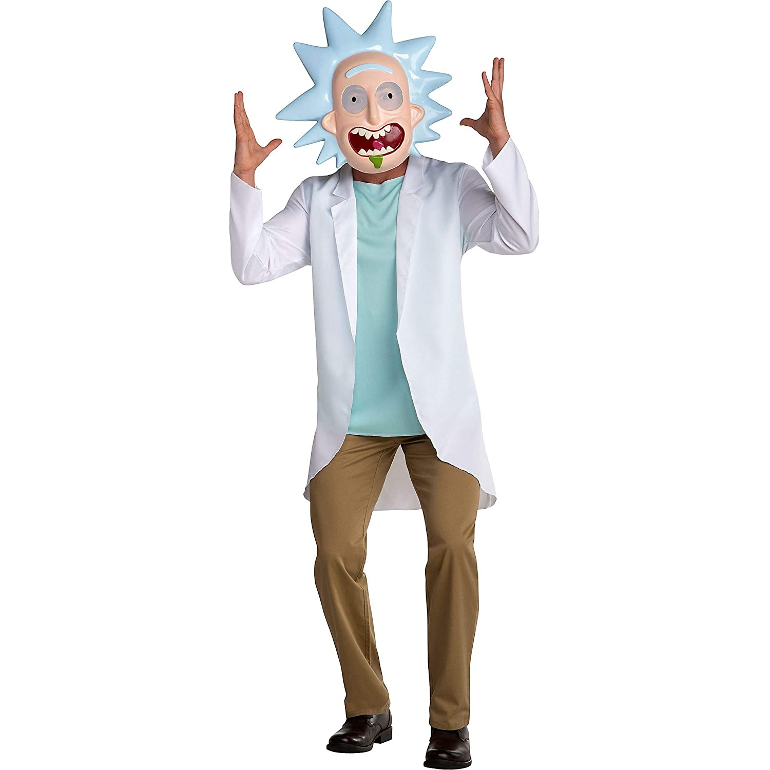Rick and Morty Disfraz Rick, Disfraz de Halloween para Adultos ...
