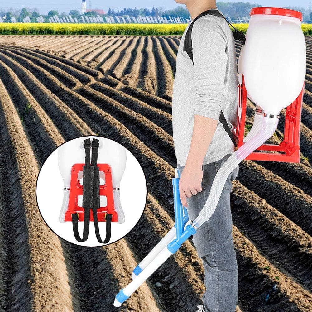 per sementi 20 l per Zaino Giardino GOTOTO Stendino per concime Fertilizzante Manuale