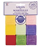Savon De Marseille 30g Guest Soaps in Gift Package - 9 Assorted Scents