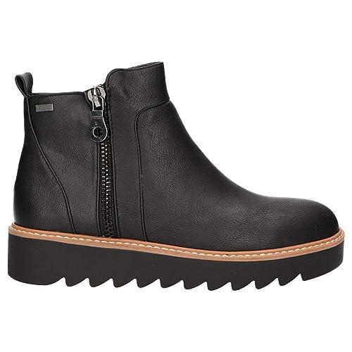 Botines de Mujer MTNG 50888 C27432 Negro: Amazon.es: Zapatos y complementos