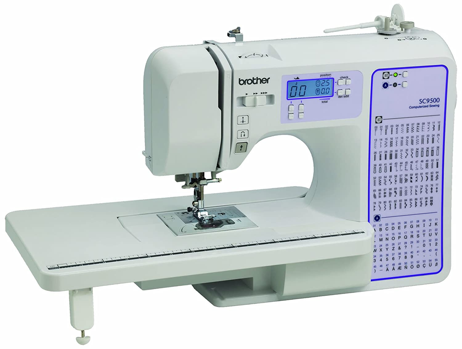 Brother SC9500 Computerized Sewing and Quilting Machine Reviews In 2019 1