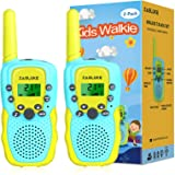 ZasLuke Walkie Talkies for Kids, 22 Channels 2 Way Radio Toy with Backlit LCD Flashlight, 3 Miles Range for 3-12 Year Old to