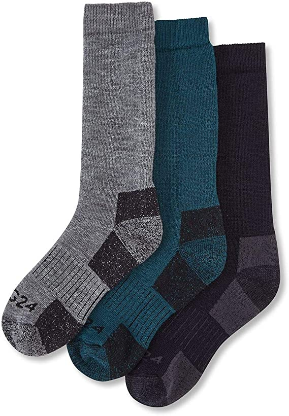 Tog24 Rigton Kids 3 Pack Merino Trek Sock