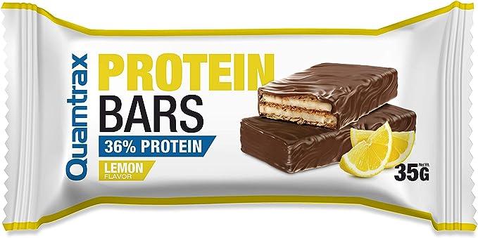 Quamtrax Caja Protein Bars sabor Limón - 32 unidades ...