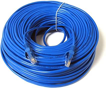 KUNOVA (TM) Ethernet Cable Cat6 100ft Blue, Network Cable Wire Cat on tia/eia-568, crossover cable, usb microphone wiring, networking cables, modular connector, home ethernet wiring, optical fiber cable, ethernet connection to printer, ethernet wiring t568b, category 3 cable, patch panel, network switch, ethernet cat, patch cable, ethernet b standard wiring, ethernet wiring pinout, ethernet switch wiring, coaxial cable, ethernet plug wiring, ethernet repeater product, ethernet jack wiring, cat5 connector wiring, ethernet parts, ethernet connector pinout, ethernet end wiring, house wiring, shielded cable, category 6 cable, power over ethernet, cat 5 wiring, 1602 lcd wiring, network interface controller, ethernet hub, ethernet frame, plenum cable, ethernet from 1983,