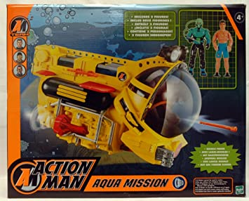 7fcc83d097c ACTION MAN AQUA MISSION: Amazon.co.uk: Toys & Games
