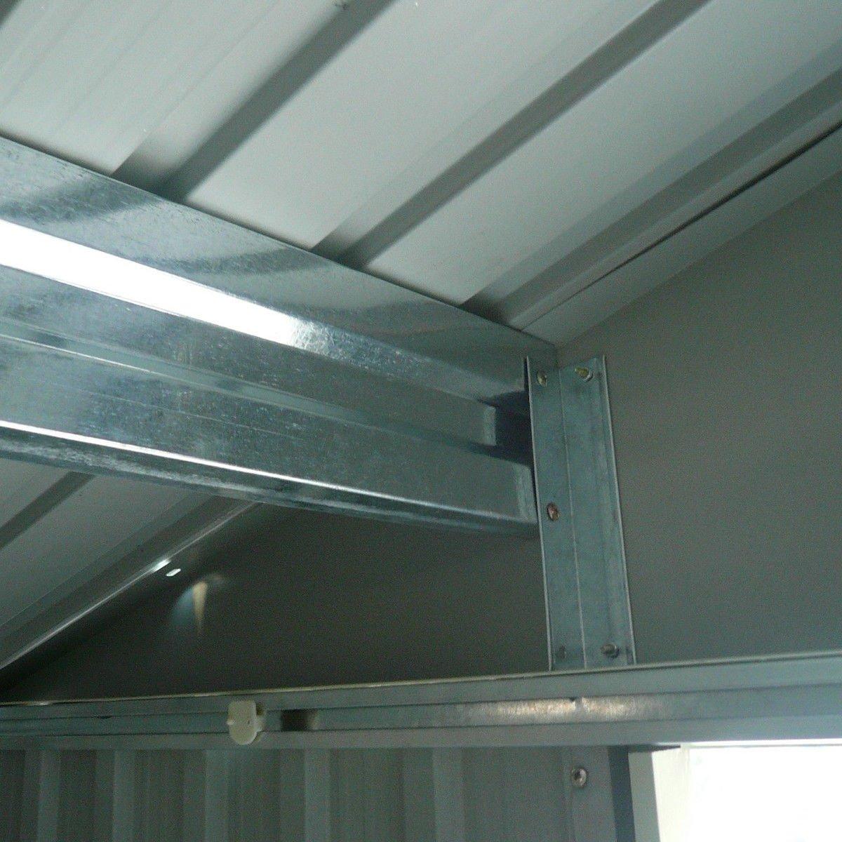 9' X 6' Outdoor Garden Storage Shed Tool House Sliding Door Steel Khaki New by tamsun (Image #9)