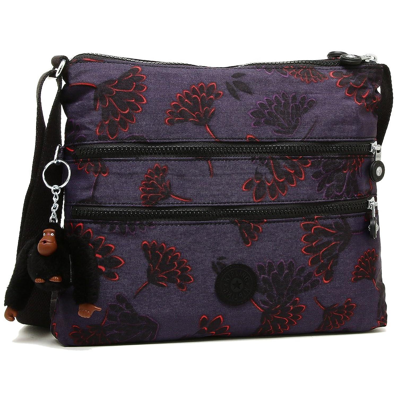 キプリング バッグ KIPLING K13335 T27 アールヴァール ALVAR レディース ショルダーバッグ 花柄 FLORAL NIGHT 紫 [並行輸入品] B07B7FNMJZ