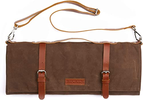 Chef Knife Roll Bag by Becken Leather Co.