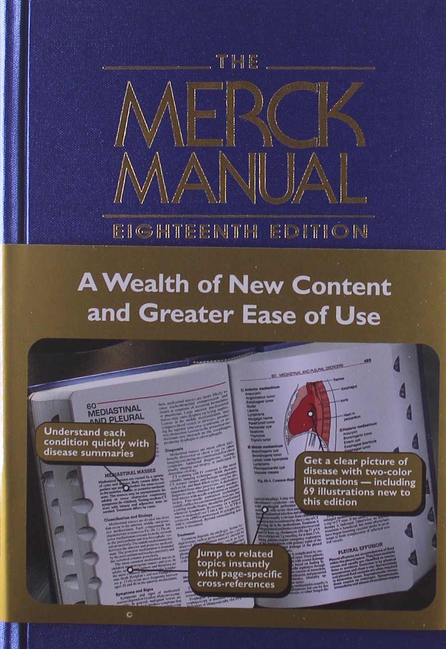 the merck manual of diagnosis and therapy mark h beer robert s rh amazon ca merck manual of diagnosis and therapy ebook merck manual of diagnosis and therapy online