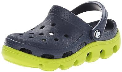 88075ec87dcaa3 crocs Duet Sport Kids Clog (Toddler Little Kid)