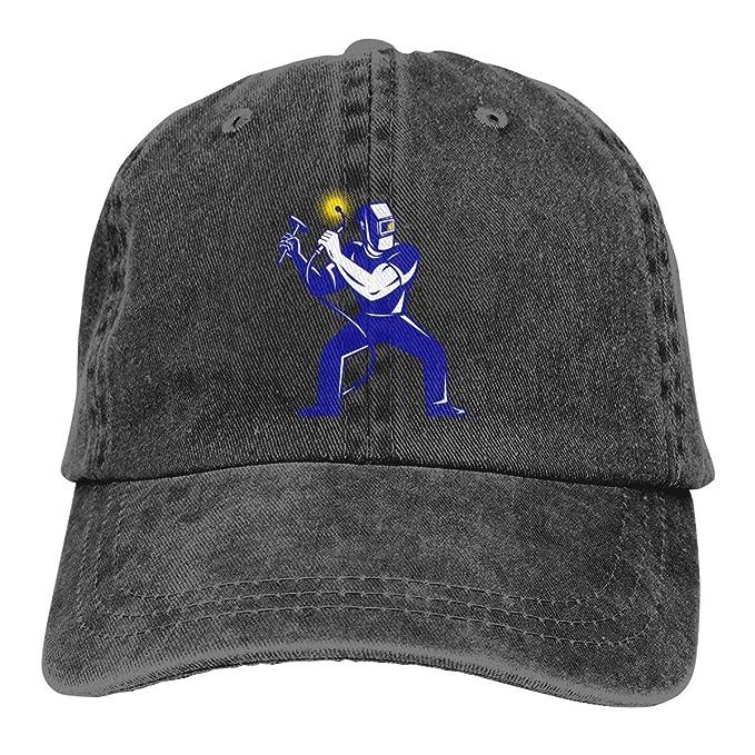 surce Soldador Soldadura 1 Sombrero de Mezclilla Lavada Gorras de ...
