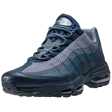 0bccdcc71f0ac Nike Air Max 95 Ultra Essential Mens Trainers Grey Navy - 8 UK ...