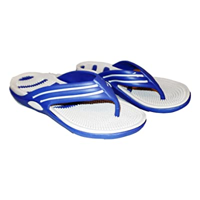 101 BEACH Mens Massage Bottom Two Color Sandals