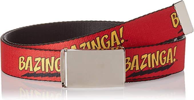 Buckle-Down Unisex-Adults Web Belt The Big Bang Theory 1.25