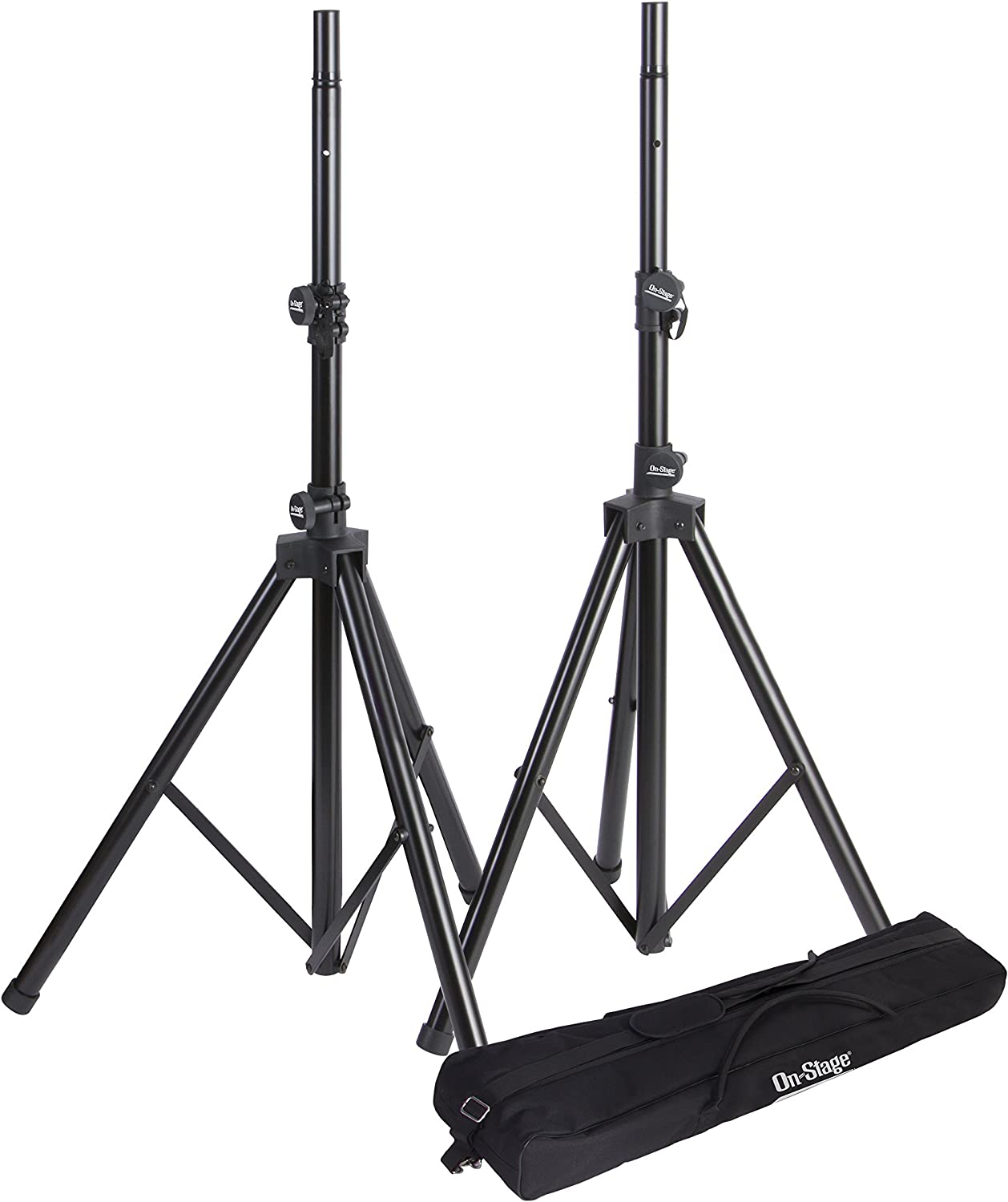 On-Stage SSP9 Tripod Speaker Stand Package with Bag