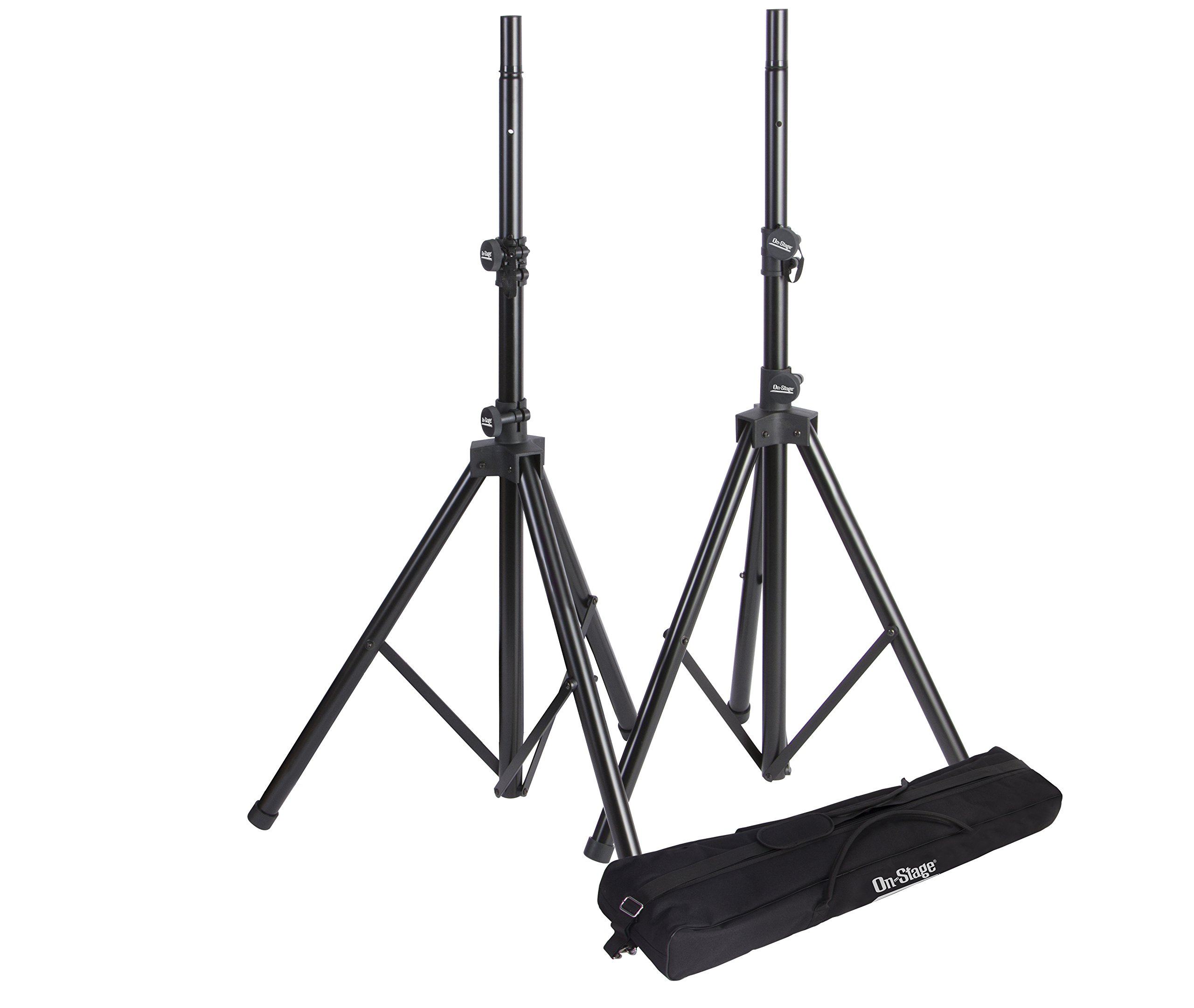 On-Stage SSP7950 Tripod Speaker Stand Package with Bag by OnStage