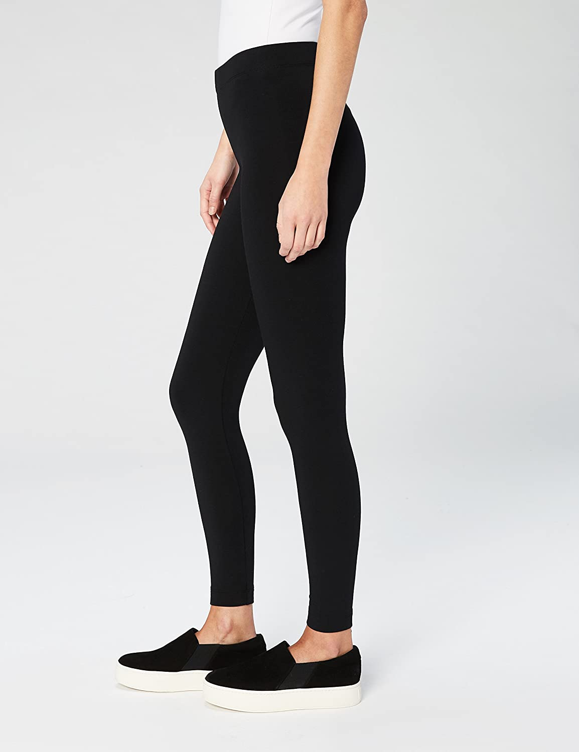 1c0c8650f12bb Amazon.com: Daily Ritual Women's Soft French Terry Legging: Clothing