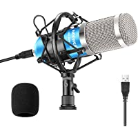 Neewer USB Microphone 192KHZ/24Bit Plug & Play Computer Cardioid Mic Podcast Condenser Microphone with Professional…