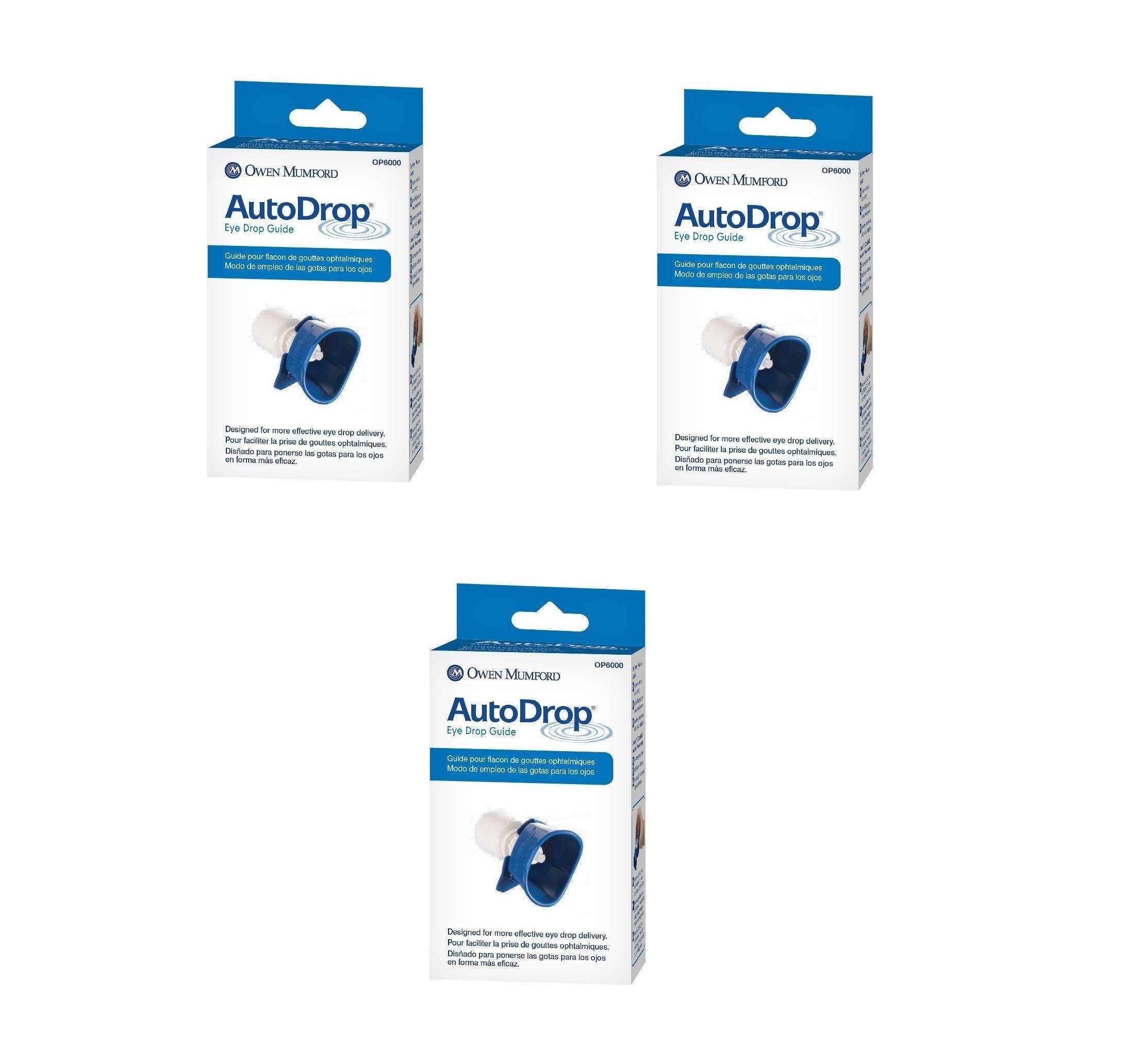 Owen Mumford OP 6000 Autodrop Eye Guide (3 Pack)