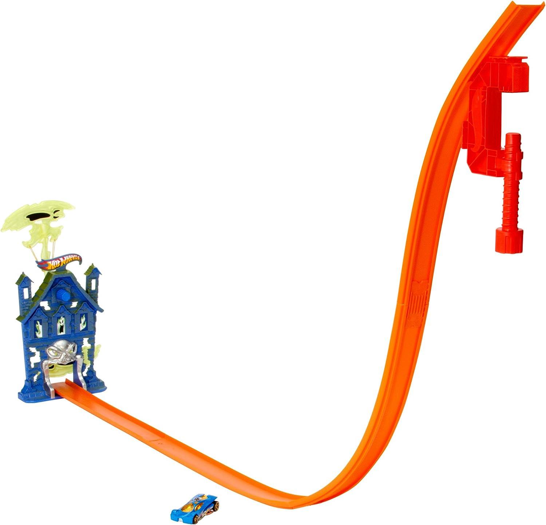 Hot Wheels Ghost Blaster Track Set