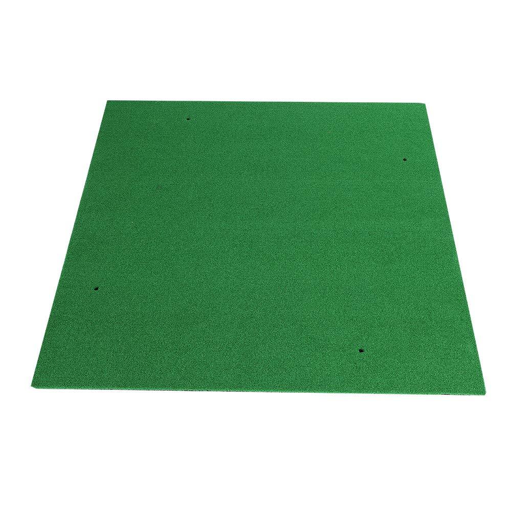 Cocoarm ポータブルゴルフマット ミニゴルフ練習用ヒットパッド ラバー&ナイロン 屋外屋内用 (5フィート x 5フィート)   B07NM9CSQL