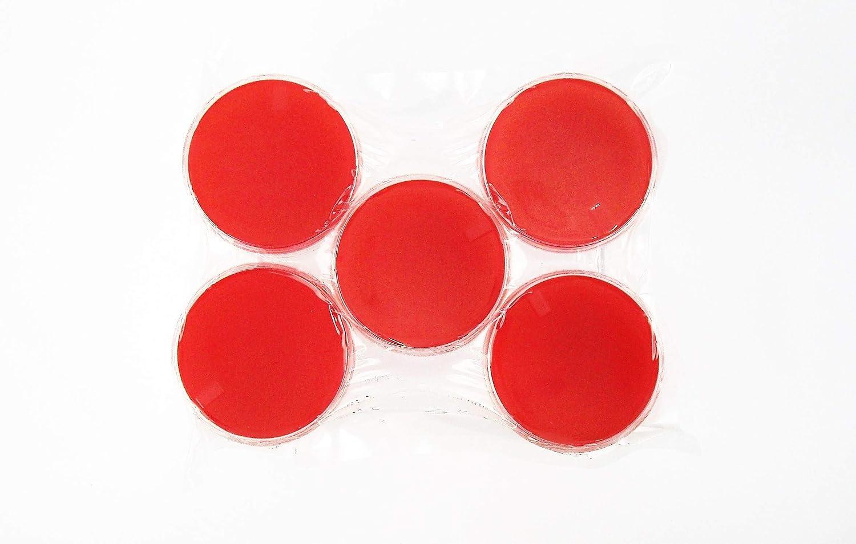 Rojo sangre Agar (RBA), (paquete de 10 unidades) Tryptic de ...