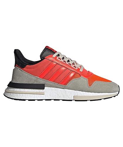 Herren Adidas Zx 500 Gelb Schwarz Weiß Schuhe adidas