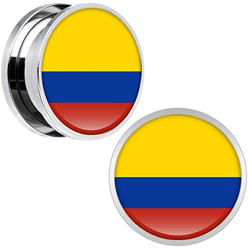 Cuerpo Caramelo Acero Inoxidable Ecuador Bandera Ajuste ...