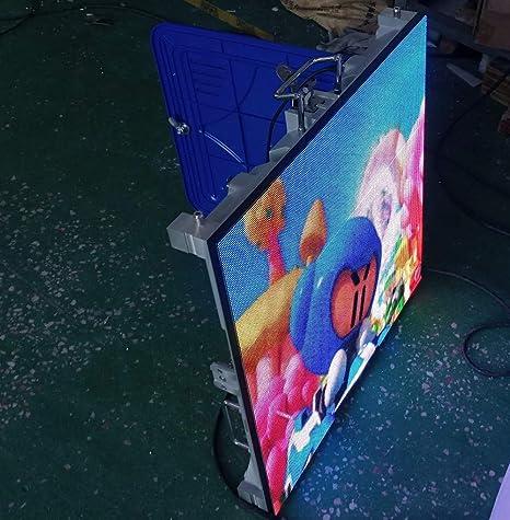 Panel de pared de video LED de pantalla completa para publicidad en interiores P4 de peso ligero, 128 x 128 píxeles, pantalla LED para TV de pantalla LED de vídeo de Express