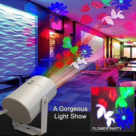 Luces de discoteca, proyector de luz nocturna, proyector de luces ...
