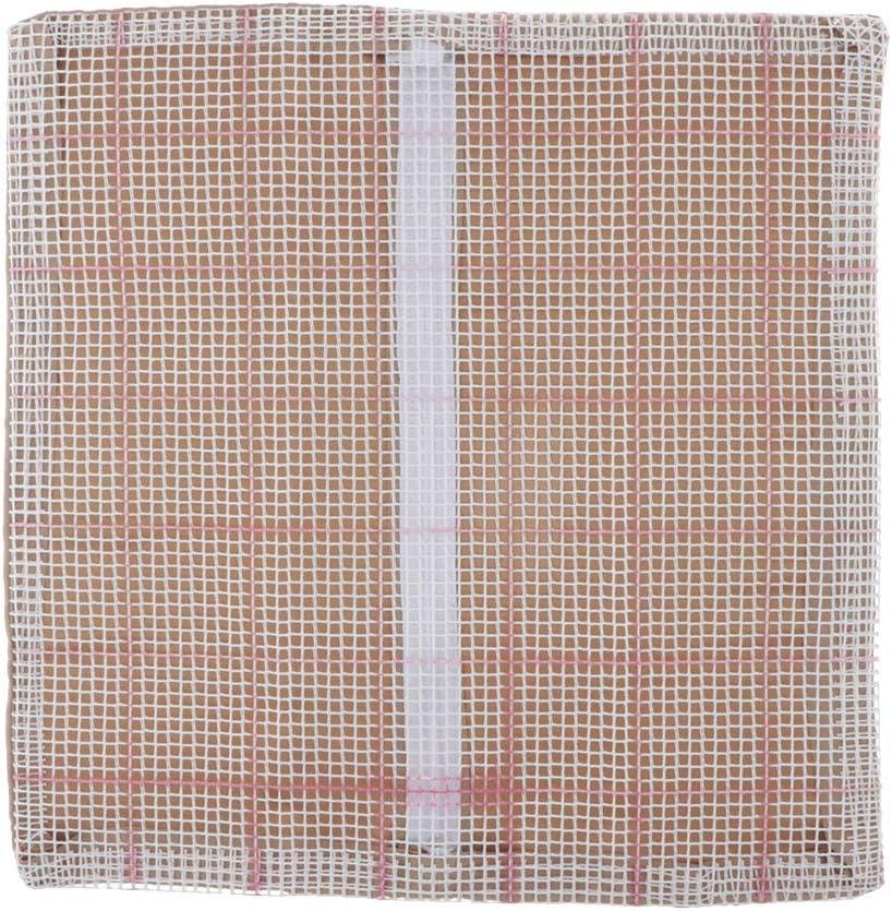4Pcs//Set perfektchoice 43 x 43cm Blank Rug Making Canvas,DIY Hooking Rug Mesh Canvas Rug Making Supplies
