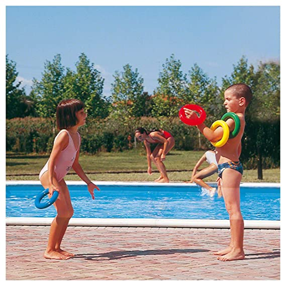 Wurf und Tennisring Set Tennisringe Wurfring Wurfringe Kunststoff Spielzeug 18cm