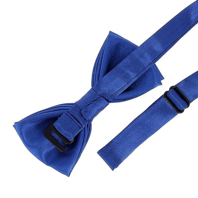 cravateSlim Pajarita de niño Azul Rey: Amazon.es: Ropa y accesorios
