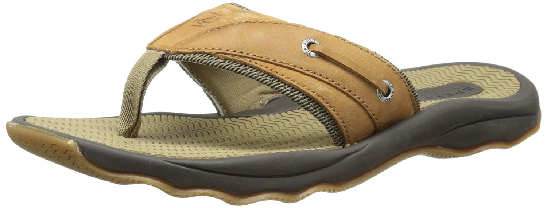 c1973e68e78f80 Amazon.com | Sperry Men's Outer Banks Thong, Tan, 8 M US | Sandals
