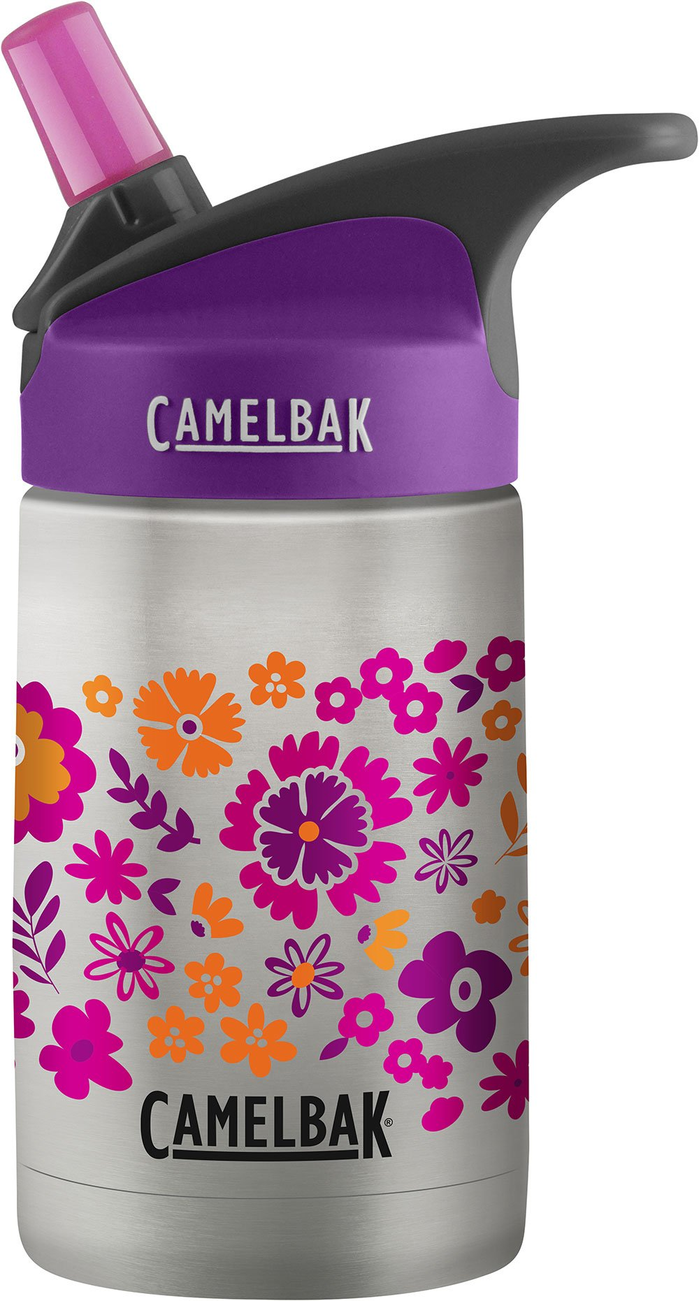 CamelBak Eddy Kids Vacuum Stainless Waterbottle, Retro Floral, 12 oz