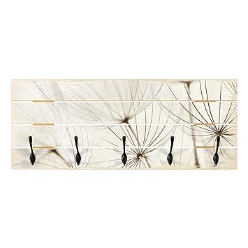 Bilderwelten Perchero de Madera - Gentle Grasses - Ganchos ...