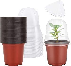 MIXC Plant Nursery Pots with Humidity Dome 4