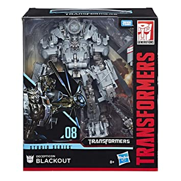 Transformers Blackout Series En Jouet Transformable Leader Helicoptere 2 1 Robot Studio 25cm kX8On0wP