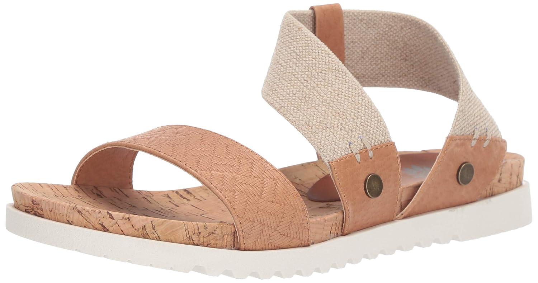 Tan Yellow Box Womens Meera Flat Sandal