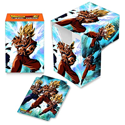 Ultra Pro Dragon Ball Super Full-View Deck Box Version 3 for Standard Trading Cards: Toys & Games