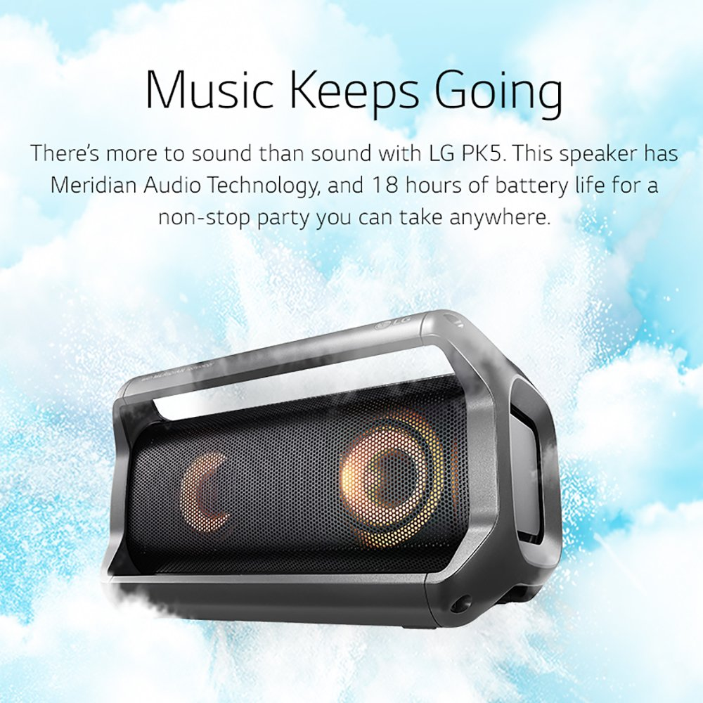 LG PK5 XBOOM Go Wireless Bluetooth Speaker with Up to 18 Hours Playback and Grab & Go Handles by LG (Image #9)