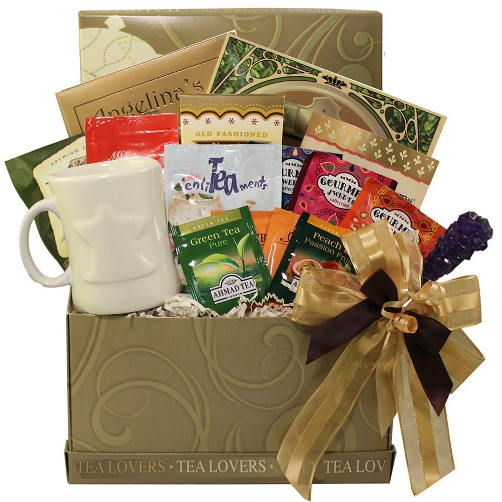 Amazon.com : Tea Lovers Care Package Snacks and Treats Gift Box ...