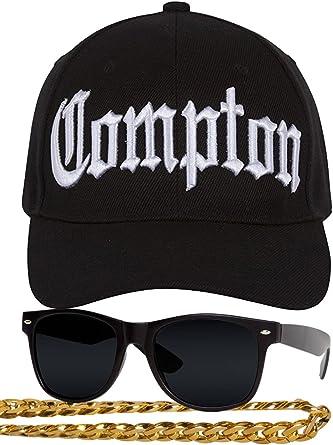Gravity Compton - Kit de disfraz de rapero de los años 80, diseño ...