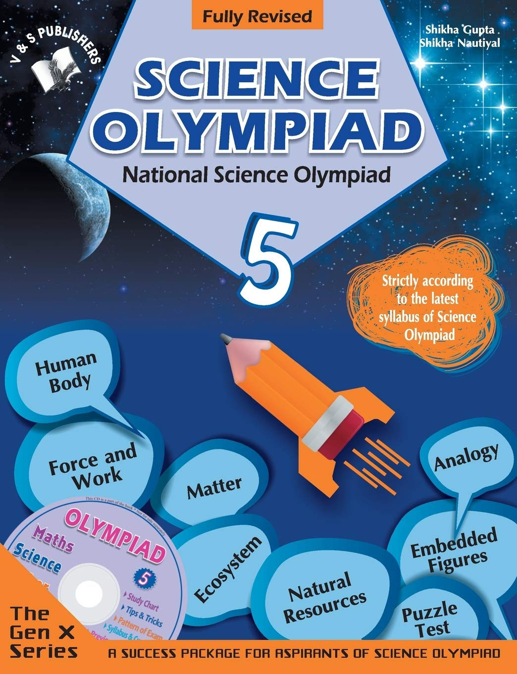 Buy National Science Olympiad - Class 5 with CD: Theories